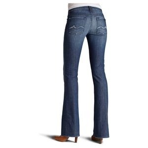 7 For All Mankind Bootcut Jeans with Crystals